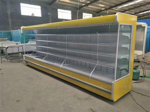 高質量風幕柜定做商超設備冷藏柜