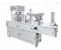JQF-2杯装酸奶片膜灌装封口机