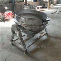 牛肉蒸煮锅 蒸汽加热夹层锅