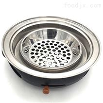 铸铁烧烤炉具铸铁上排烟炭火炉