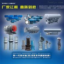 雨水泵站潛水軸流泵設備安裝生產--全套設備