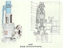 高壓彈簧全啟式安全閥,永一閥門廣東廣州