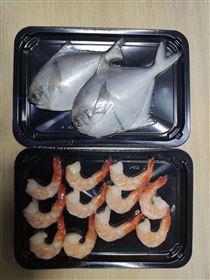 生鱼片贴体真空包装机