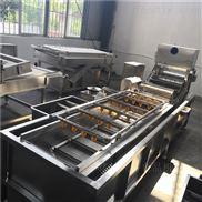 工业用高压喷淋式叶菜清洗机