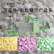 雪花片面包糠生产设备 济南林阳机械