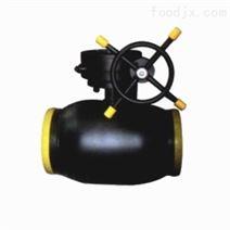 富林克泵閥 熱力管道蝸輪全焊接球閥