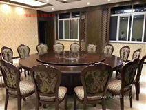 工厂定制款 电动圆桌 电动餐桌 酒店餐桌