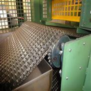 不锈钢制品喷淋清洗线专用长城型输送网带