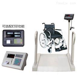 300kg医用轮椅称重电子秤 血透轮椅体重秤