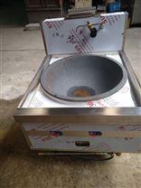 上海厂家供应不锈钢燃气单头大锅灶