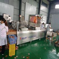 DZL全自动大规模连续拉伸膜真空包装机厂家