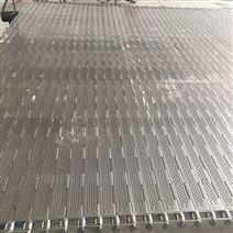 水面垃圾清理冲孔链板式输送带