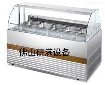 研滿商用制冷DELI自助餐熟食點菜柜展示柜