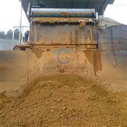定制淤泥带式压泥机 洗砂淤泥脱水设备