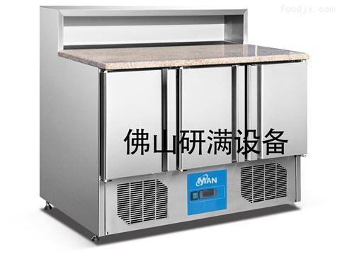 研滿商用制冷設備冷藏玻璃沙拉柜展示柜