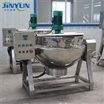 600L可傾式電加熱攪拌夾層鍋