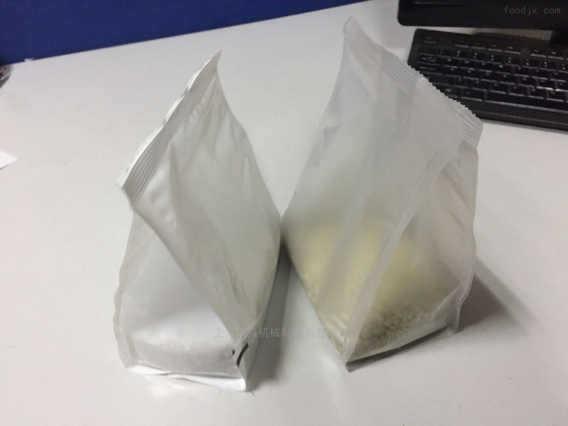 四边烫封口插脚袋颗粒包装机