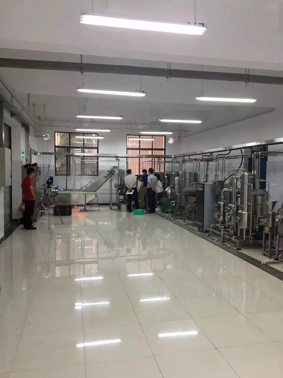 实验型果汁生产线结构