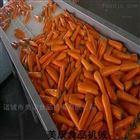 果蔬加工设备-胡萝卜清洗机-毛辊去皮设备
