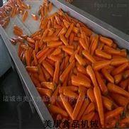 果蔬加工設備-胡蘿卜清洗機-毛輥去皮設備