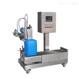 10升硫酸液体灌装机,不锈钢防腐蚀分装机
