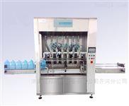 青島玻璃水灌裝機,全自動液體灌裝生產線