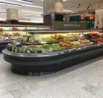 上海水果風幕柜,水果保鮮柜,水果冷藏柜