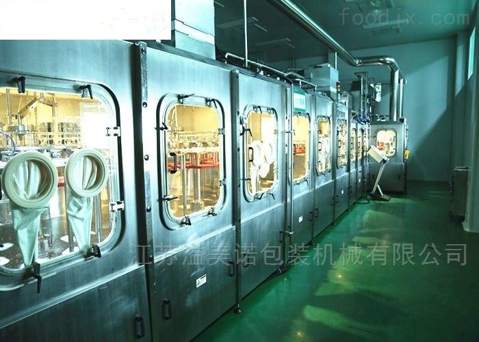 24000瓶/小时(500ml)无菌吹灌旋生产线