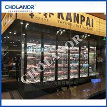 牛肉干式熟成冰箱濕式排酸柜冷鮮牛肉展示柜