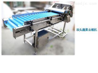 DYQG-2600菠菜芹菜去根机根部切除机