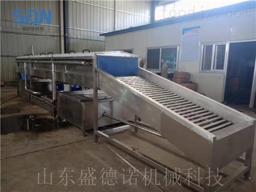 连续式速冻玉米加工设备