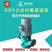 GDF型氟塑料管道泵立式衬氟泵化工离心泵