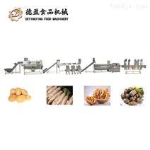 土豆蘿卜根莖類蔬菜加工生產線德盈機械