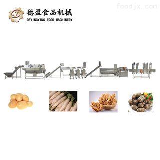 DY-20000土豆萝卜根茎类蔬菜加工生产线德盈机械
