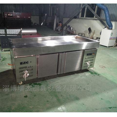 工厂订做超市冰台不锈钢冰鲜台