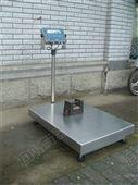 高精度的防水计数台秤 超低钢材缓冲地磅