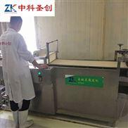 宜宾厚薄可调不锈钢豆腐皮机 自动化豆腐皮生产设备 新款豆皮机厂家报价