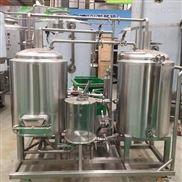 山東豪魯供應日產100升自釀啤酒設備