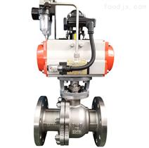 氣動單作用球閥 耐磨耐腐蝕Q641F-16P