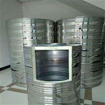 圆柱形不锈钢保温水箱