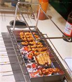 丰茂木炭自动翻转烧烤炉 自动烤串机