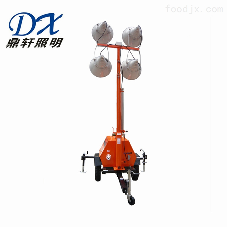 CW805自动升降泛光工作灯灯塔遥控移动灯