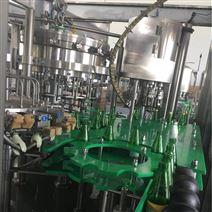 全自动玻璃瓶啤酒生产线设备