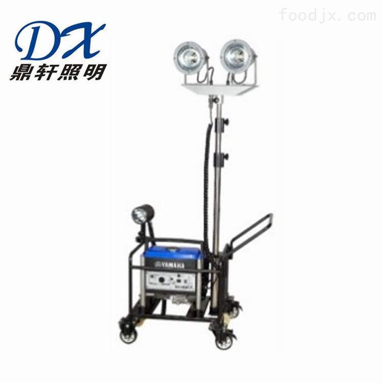 DYN6800轻便式升降照明车 2*150W金卤灯