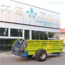 大連雨林廠家直銷雙(shuang)軸撒肥機 雞糞揚糞車