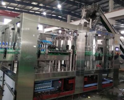DGCF系列玻璃瓶饮料灌装生产线