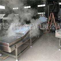 利特连续式小龙虾蒸煮机