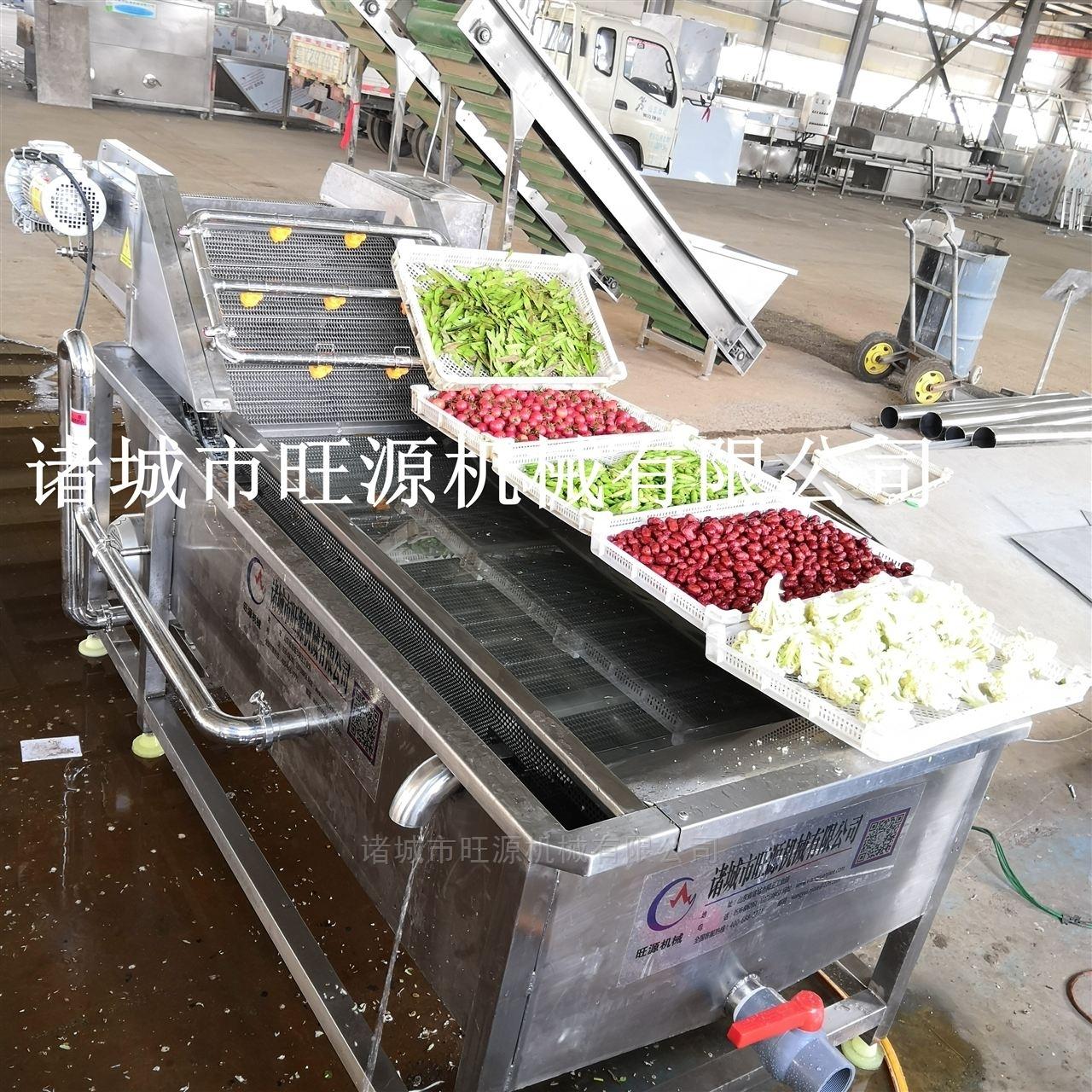 旺源全自动洗菜机、果蔬清洗机可定制