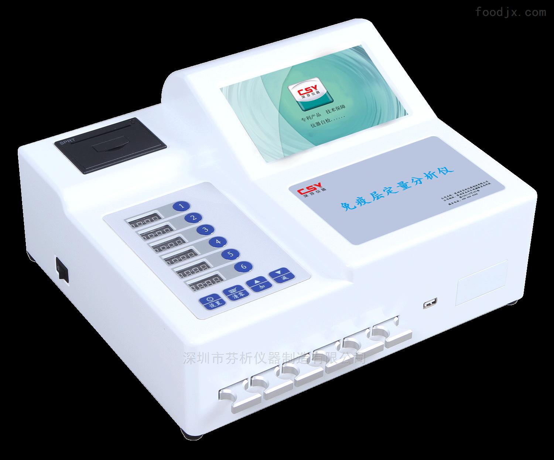时间分辨荧光定量分析仪