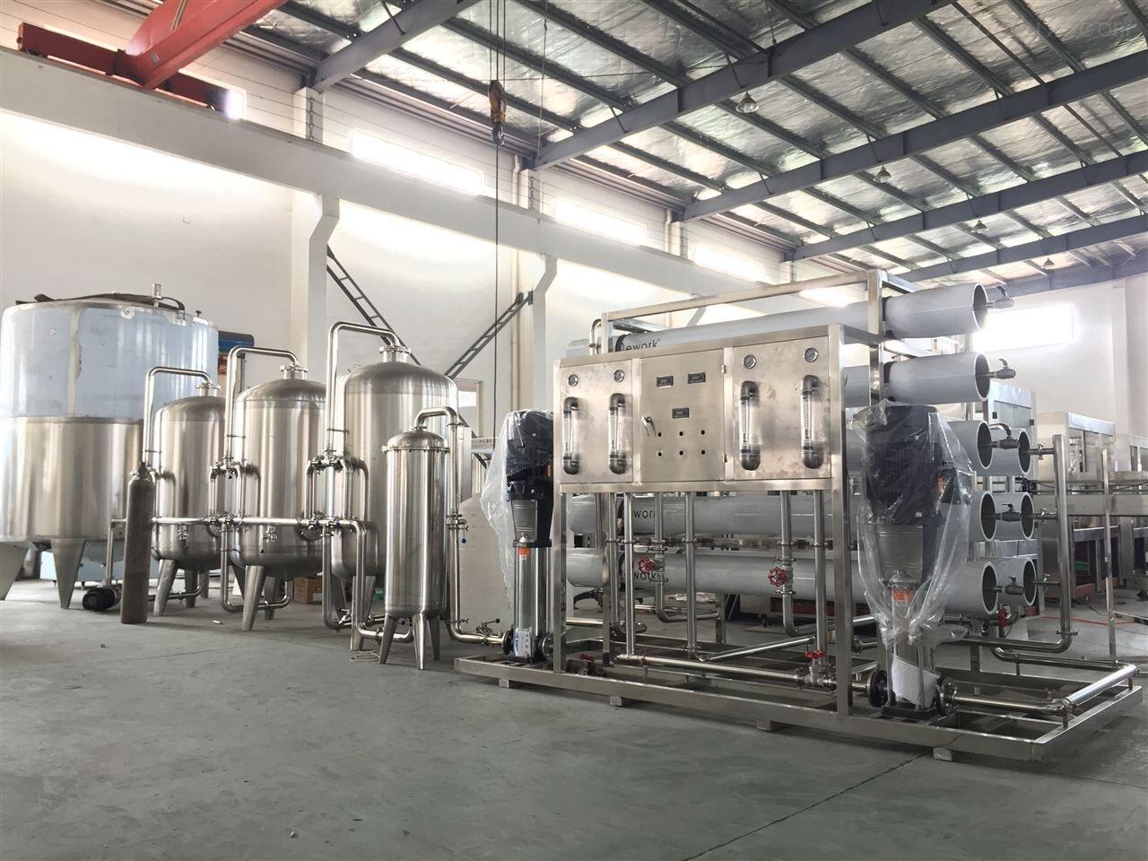 纯水处理成套生产线